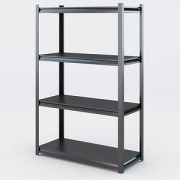 Popular Multipurpose 3 Tiers Free Standing DIY Carbon Steel material TV / Laptop Storage Shelf Rack with Msf Board