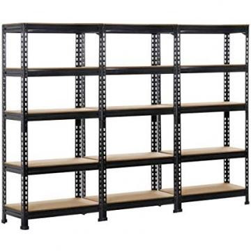 Warehouse Light Duty Steel Shelving Units